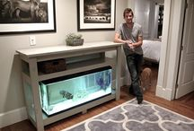 móvel para aquario