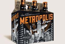 Packaging - Liquids / Beer, packaging, design, graphic design.