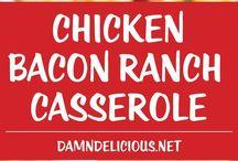 Chicken bacon