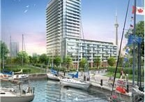 Toronto Waterfront Condos / Lakeside living — big-city lifestyle!   If you're looking for a downtown condominium, Toronto Waterfront is a great place to start. Modern, iconic towers etch the Toronto skyline. Each boasts its own distinctive view of Toronto Islands to the south, Harbourfront to the west, the Leslie Spit to the east and Canada's financial and entertainment heart to the north.