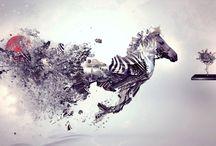 Abstract / Strange art I like