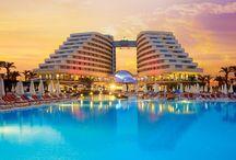 In Turkije op in de hotel