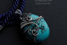turqouise pendant