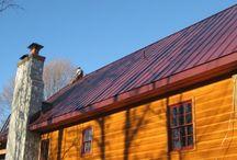 Burgundy Metal Roof