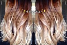 Beauty ~ Hair Colours / all sorts... one, multi, bright, natural etc