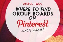 Pinterest Group Boards / by Pin4Ever - Pinterest Tools