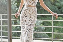 white lace gown / maybe can help you to find best gown for party