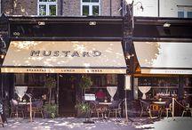 Mustard, London / DesignLSM, designlsm.com, completed the interior design for the launch of Mustard, London