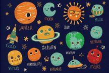 Space kids activities