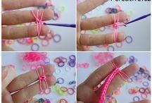Rainbow Loom (pletení z gumiček)