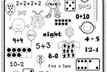 Kinder Math / Lessons and activities for kiddos in K!