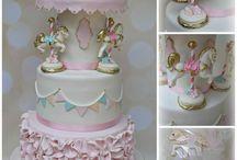 Sienna's 1st birthday / Carousel theme first birthday