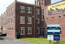 Bristol 2004 / Over 140 windows manufactured and fitted to Horfield Barracks. They are all blast-proof and are made from uPVC. This is one of the first times that PVC has been permitted on a Listed Building.