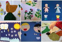 *Kids-Felt Board Ideas* / by Piper Hoskins