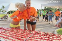 """4th Temptation Race, Running for life! ( / So much fun at our 4th """"Running for life"""", Temptation Race, and we wanted to share with you some of the best moments we had last August 10th, 2014!"""