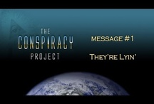 The CONSPIRACY Project / A massive multimedia project consisting of art, film, animation, music, graphic novel and live performance.