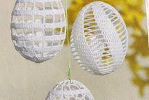Pääsiäinen virkatut munat