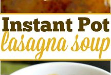 Instant pot receipes