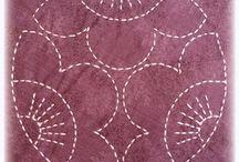 embroidery, sashiko