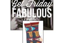 Tribal Socks