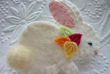 felt bunny craft