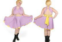 Cartoon Inspired Convertible Dresses / Custom convertible dresses inspired by cartoon characters!