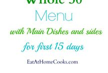 whole 30 foods / by Lindsey Regalia