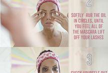 Eye make-up remover / Eyes