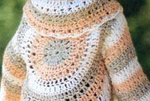crochet baby diagram vest and jacket