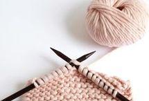 à tricoter avec une pelote