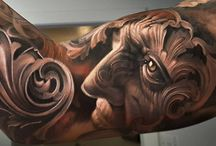 Tatueringar blandat