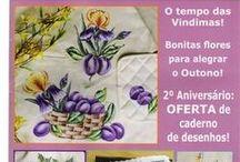 Revistas de pintura em tecido