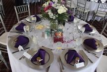 Wedding Center Pieces / Center pieces at Saguaro Buttes