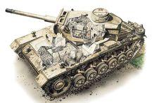 Tank Illustrations