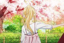 Shigatsu Wa Kimi No Uso / your lie in April
