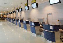 Aeropuerto de Ibiza / A sólo 7,5 km de la capital, y perfectamente conectado con los núcleos turísticos más importantes, el aeropuerto de Ibiza representa para la isla su principal arteria de comunicación. Las instalaciones aeroportuarias dan servicio a Ibiza y Formentera, y son utilizadas por el 95 por ciento de las personas que entran o salen de estas islas.  http://ow.ly/GwJtu