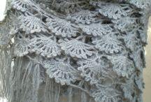 Shawl hat / Crochet