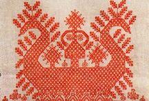 Вышивка русская