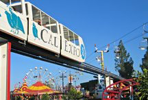 California State Fair / For well over 100 years, Sacramento has hosted the California State Fair. Today, nearly 800,000 people pass through the Cal Expo gates in an effort to enjoy food, rides, entertainment, farm animals, horse racing, exhibits, and much, much more!