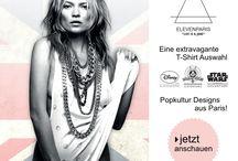 Eleven Paris / Popkultur T-Shirts und jede Menge Style aus Paris, das ist Eleven Paris
