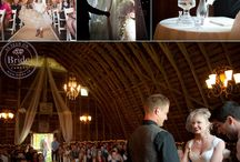 """Real Wedding : Chelsea & Tyler's Barnyard """"Rustic Elegance"""" / A great location and tons of original DIY vintage/country weddin gdecor ideas"""