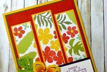 Botanical Blooms & die cards / by Rita Day