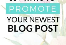 Blogging / Blogging, starting a blog, making money from blogging, affiliate income, passive income, increasing your blog traffic
