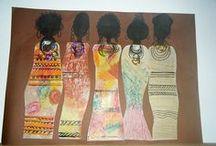 African cultural portraits