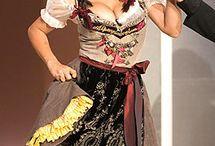 DRESS -                                            AUSTRIAN DIRNDL DRESS