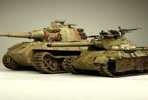 Model Kits Tanks