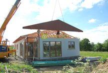 Montované domy / Jak probíhá výstavba montovaných domů?