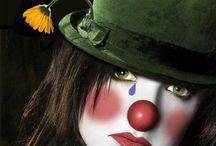 clown...