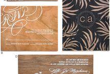 Creative Pile Wood Cards