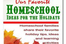 Christmas Homeschool Ideas and Resources / Christmas Homeschool Ideas, Resources, Inspiration, Crafts, Recipes